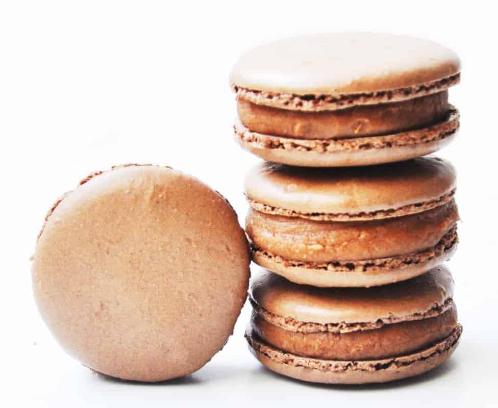 Macarons Chocolate Pastelaria